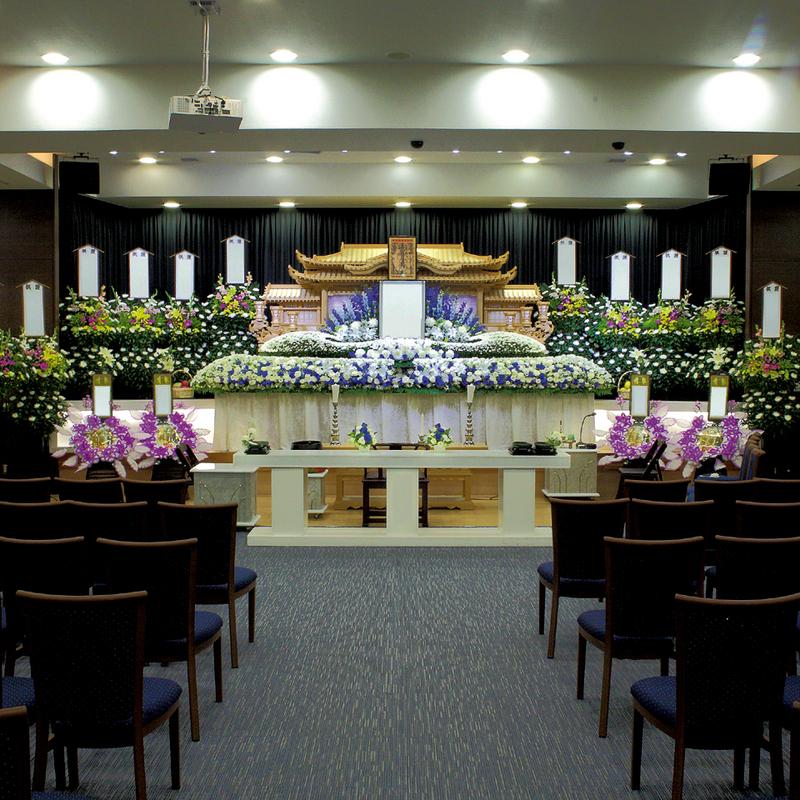 【白木祭壇】合同葬(家族葬・社葬) 参列200人 水戸市