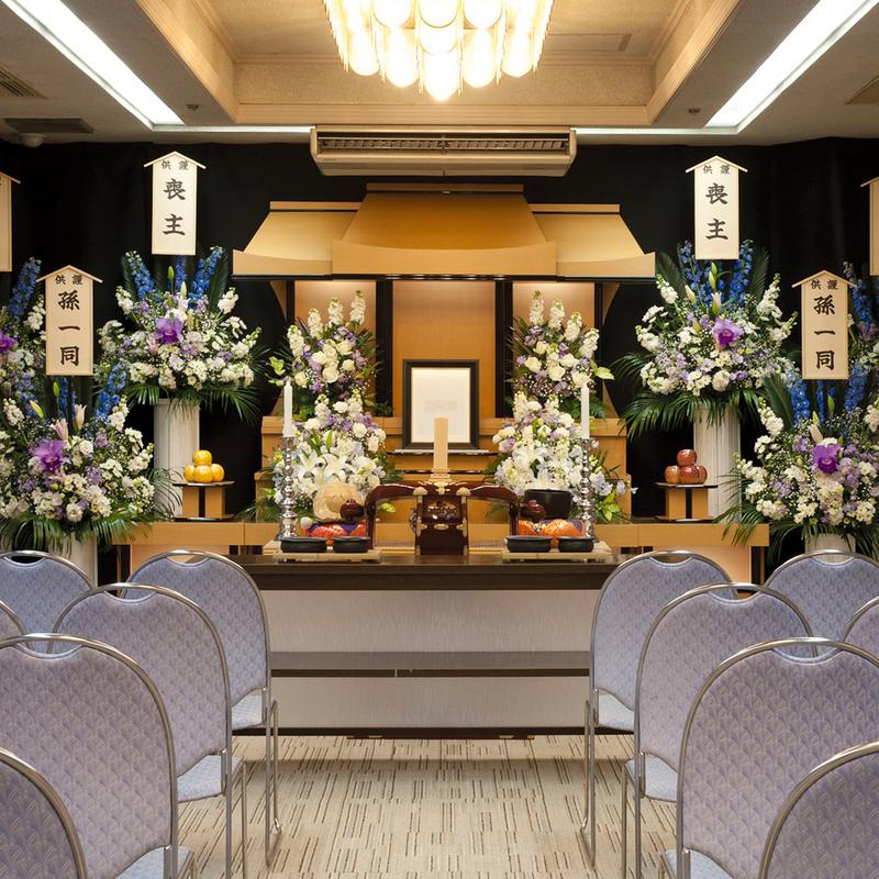 【白木祭壇】家族葬 参列20人 日立市