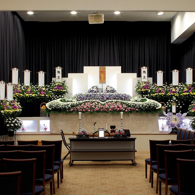 【生花祭壇】家族葬 参列40人 ひたちなか市