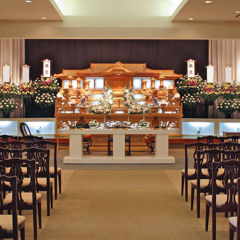 【白木祭壇】一般葬 参列80人 常陸太田市