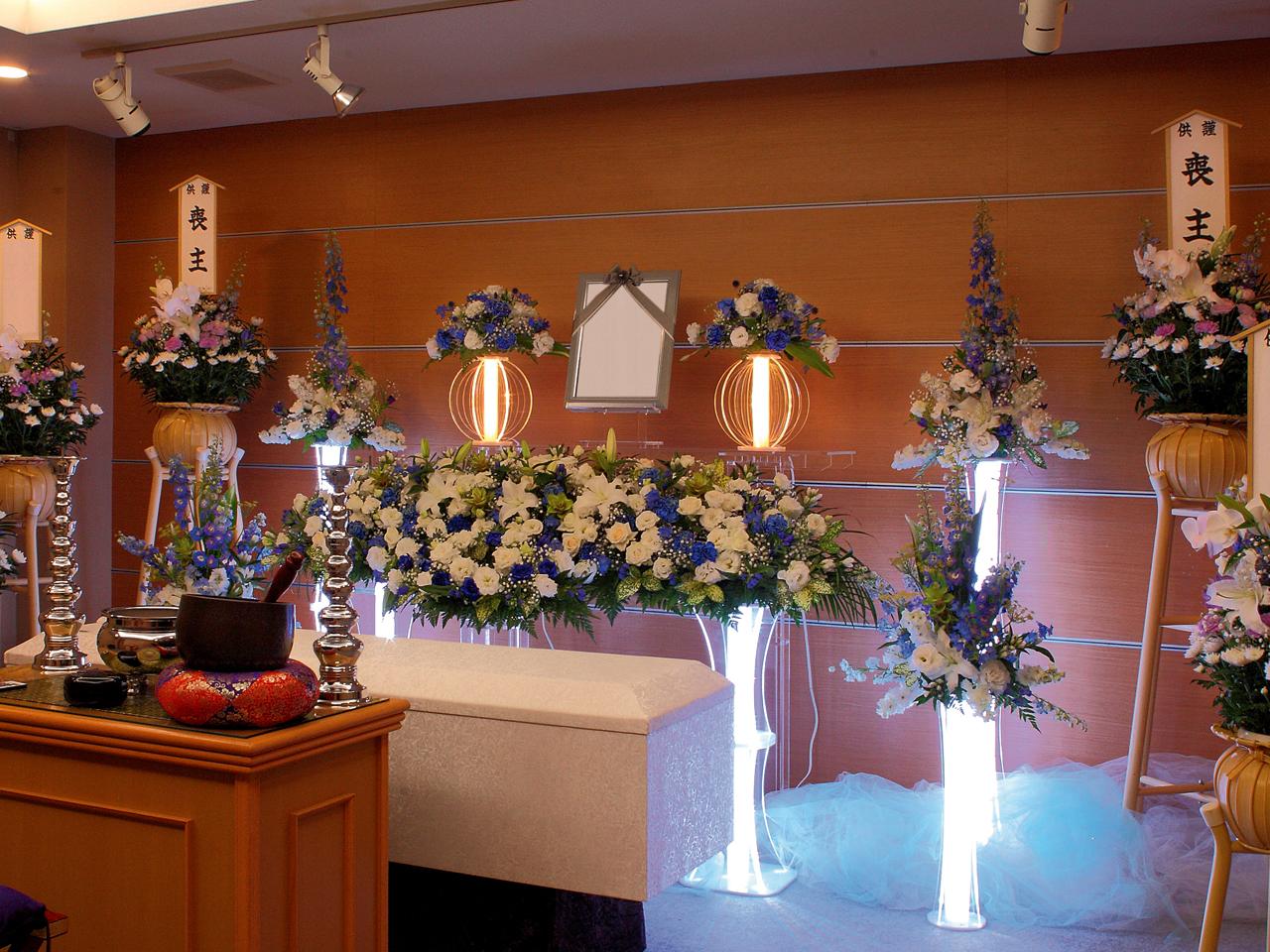 【光祭壇(水戸限定)】家族葬 参列12人 水戸市